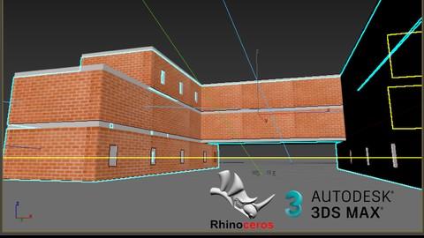 Modelado 3d en Rhino y rendering en 3dsMax