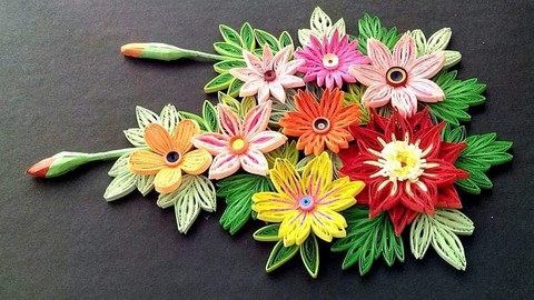 Paper Quilling Art - Beginner to Advanced