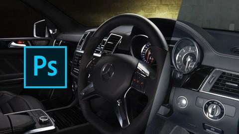 Automotive & Interior Car Retouching In Adobe Photoshop