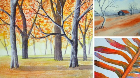 Creative Watercolours Near Beginners