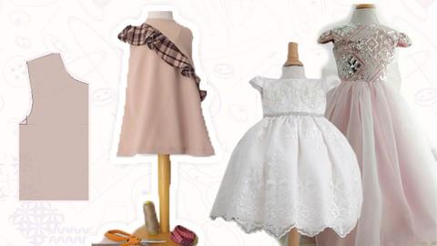 Corte y Confeccion, Diseña tu Primer Vestido de Niña