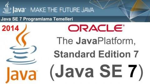 Java SE 7 Programlama