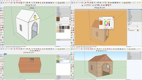 Learn Google SketchUp Pro from absolute beginner level part1