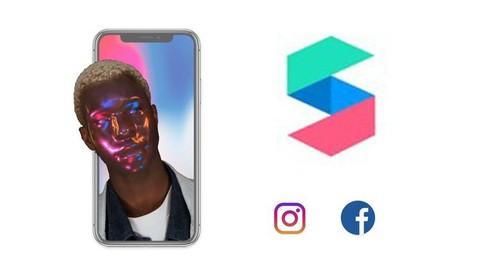 Netcurso-spark-ar-studio-instagram-and-facebook-filters-crash-course