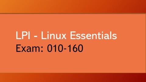 LPI 010-160 : Linux Essentials Certification Practice Exams