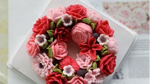 How to make flower jelly cake. Coupon