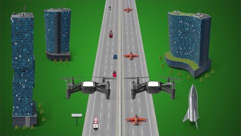 Applied Control Systems 2: UAV drone (3D Dynamics & control)