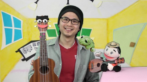 Super Fun Ukulele Lessons for Kids | Mr. Uku and Friends - Resonance School of Music