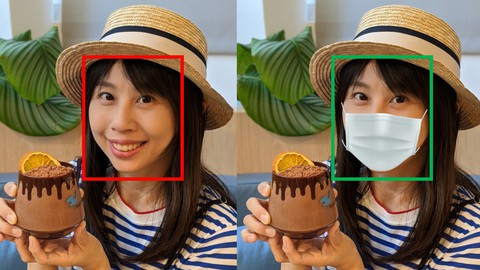Deep Learning: masked face detection, recognition