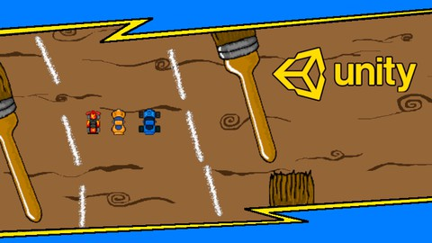 Learn to create a 2D Racing car game for FREE PART 1.