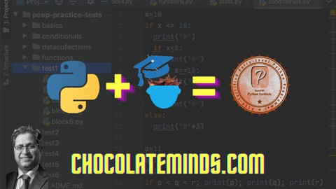 Become a Certified Python Programmer: PCEP Practice Tests