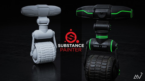 Substance painter 2020 - The complete 3D Texturing course