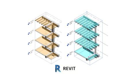 BIM Revit Structural 2020 Complete Modeling