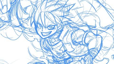 Learn Manga Drawing from a professional Japanese Mangaka