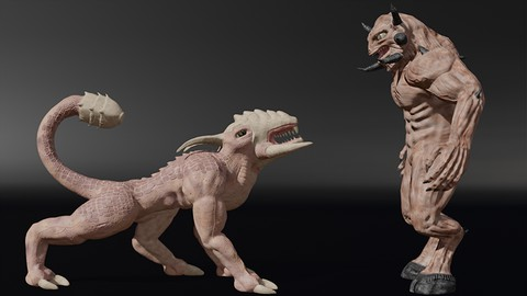 The Ultimate Blender 3D Sculpting Course