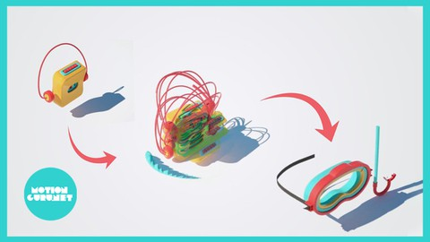 Complete course of making 3D motion graphics in Cinema4D Coupon