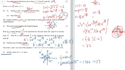 IB maths AI Complex Number (HL)