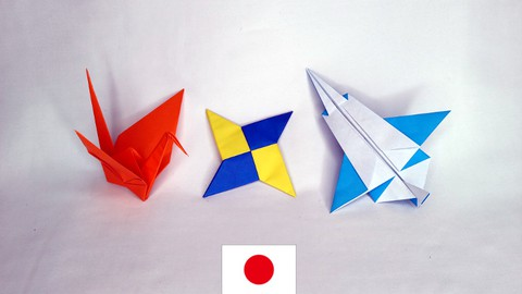 Netcurso-origami-japanese-paper-crafts-free-beginner-course