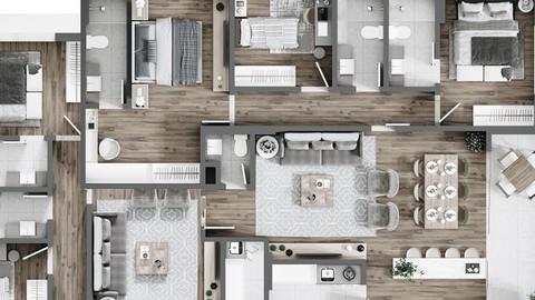 Materiales. Acabados en Arquitectura e Interiorismo. Coupon