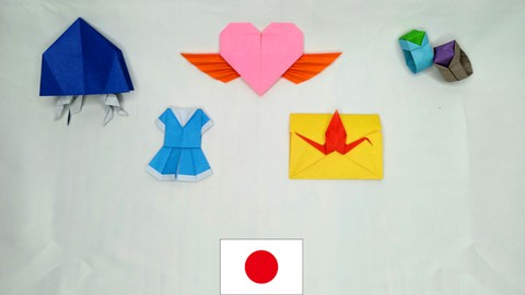 Origami, Japanese Paper crafts ‐ Challenge course 2