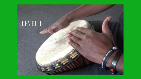 How to Play Djembe,Drum & Rhythm and teach Children. Level 1 - Resonance School of Music