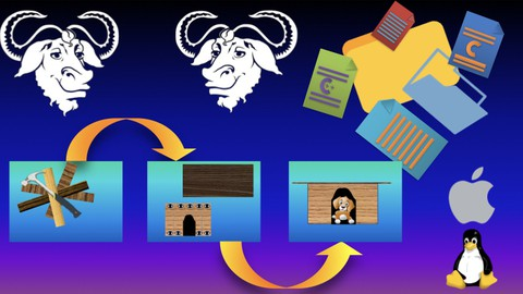 GNU Make & Makefile To Build C/C++ Projects - (LINUX,MAC)