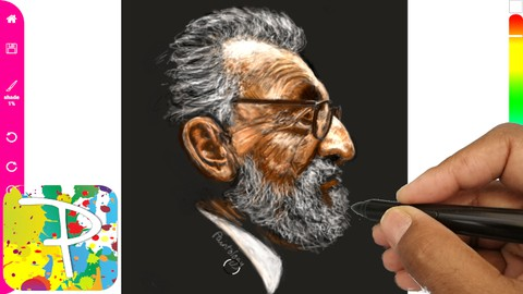 Netcurso-draw-a-portrait-with-paintology-and-improve-drawing-skills
