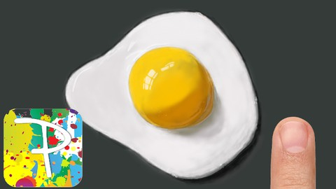 Netcurso-paintology-drawing-a-fried-egg-is-not-as-easy-as-you-think