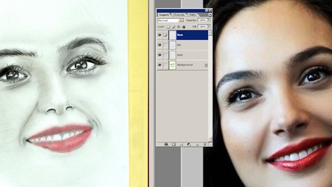 Art Drawing,Drawing with Photoshop