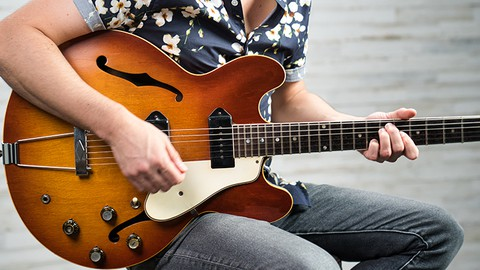 Beginner Blues Guitar Lessons Rhythm: Corey Congilio