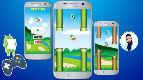 Create a Flappy Bird Clone in Android Studio Using Java.