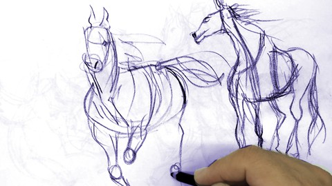 Netcurso-drawing-with-4-techniques