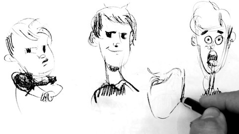 Drawing: How to Draw Cartoon Characters, Sketching