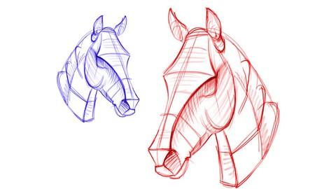 Netcurso-drawing-sketching-figure-of-animals