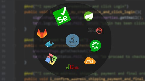 Automation Testing Masterclass - Selenium, Cucumber and More