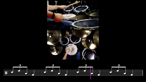 Drum Lesson: Falling Down The Stairs | Drum Fill