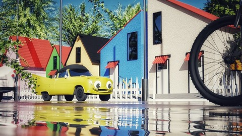 Exterior Visualization with Blender 2.9-From Beginner to Pro Coupon