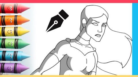 Netcurso-superhero-poses