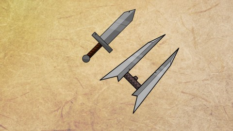 Draw the sword: easy way to create 2d game art in 30 minutes