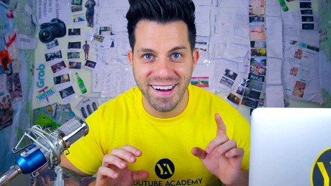 YouTube Academy - The Complete 2021 Guide Beginner to Pro