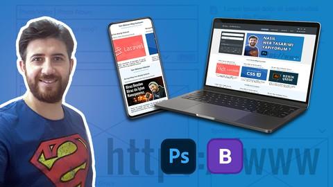 Photoshop CS6 ile Sıfırdan Responsive Web Tasarımı Yapıyoruz Coupon