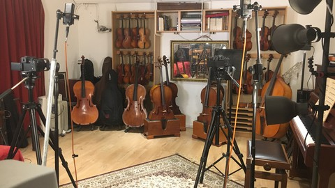 Netcurso-viola-lessons-for-beginners-part-1-introduction-to-straight-bowing