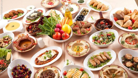 Lebanese and Mediterranean cuisine, savory & desserts (2in1) Coupon
