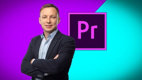 Kurs montażu filmów w Adobe Premiere Pro w 110 minut