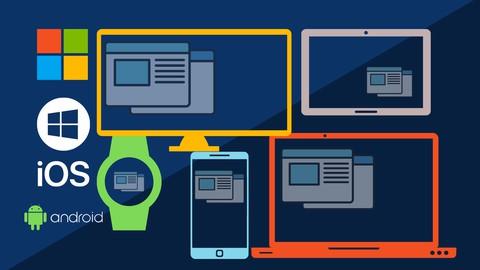 Quick GUI Design and Development of Multi device Application