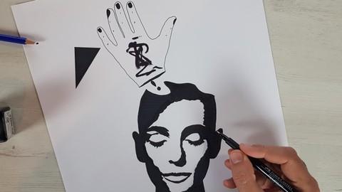 Netcurso-creative-pen-drawing
