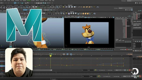 Intermediate Animation in Autodesk Maya Coupon