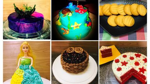 Learn Baking - Cake Cookies & Bread(Beginners)