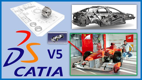 Catia V5 Beginner and Advanced - Automotive and Industrial