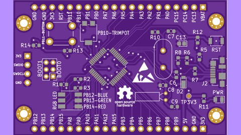Kicad ile STM32 Geliştirme Kartı Tasarımı(Development Board) Coupon